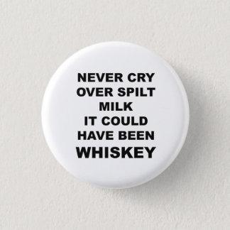 Badge Rond 2,50 Cm Bouton drôle de citation d'alcool