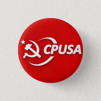 Badge Rond 2,50 Cm Bouton du parti communiste (CPUSA)