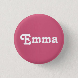 Badge Rond 2,50 Cm Bouton Emma