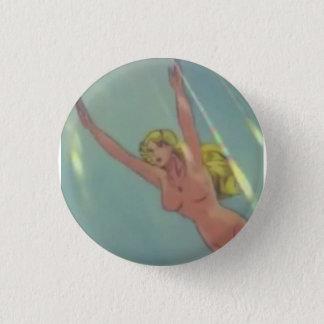 Badge Rond 2,50 Cm bouton esthétique de blondie