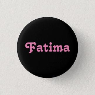 Badge Rond 2,50 Cm Bouton Fatima