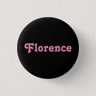 Badge Rond 2,50 Cm Bouton Florence