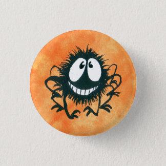Badge Rond 2,50 Cm Bouton fou mignon d'araignée de Halloween !