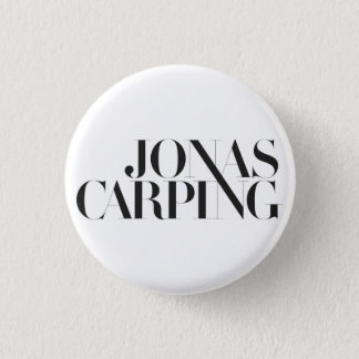 Badge Rond 2,50 Cm Bouton grincheux de logo de Jonas