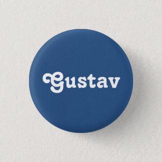 Badge Rond 2,50 Cm Bouton Gustav