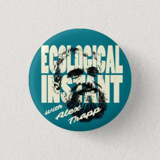 Badge Rond 2,50 Cm Bouton instantané écologique