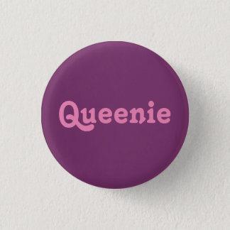 Badge Rond 2,50 Cm Bouton Queenie