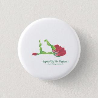 Badge Rond 2,50 Cm (Bouton rond de posture de gros orteil petit I) en
