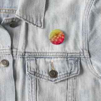 Badge Rond 2,50 Cm bouton rond floral de ressort