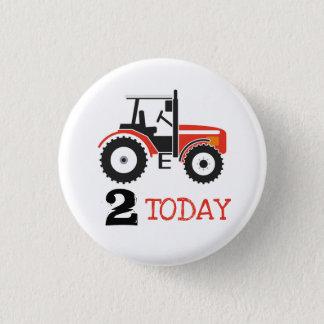 Badge Rond 2,50 Cm Bouton rouge d'insigne d'âge d'anniversaire de