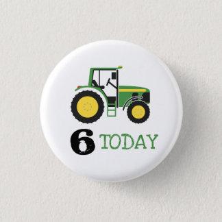 Badge Rond 2,50 Cm Bouton vert d'insigne d'âge d'anniversaire de