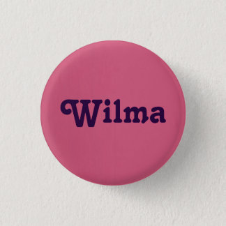 Badge Rond 2,50 Cm Bouton Wilma