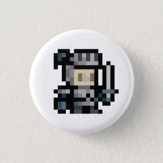 Badge Rond 2,50 Cm boutons à 8 bits d'art de pixel de lutin du