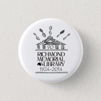 Badge Rond 2,50 Cm Boutons de RML quatre-vingt-dixième Anniv