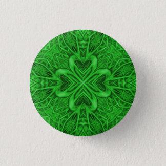 Badge Rond 2,50 Cm Boutons et goupilles celtiques de kaléidoscope de