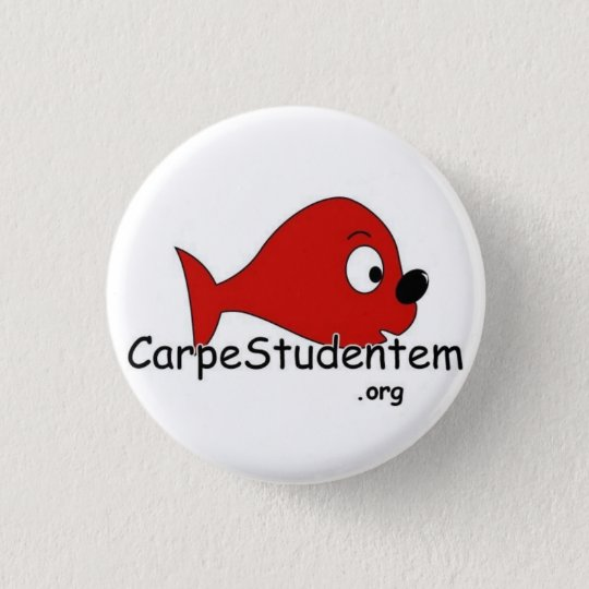 Badge Rond 2,50 Cm Carpe Studentem