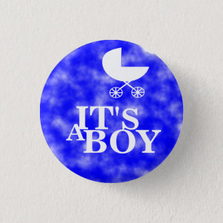 Badge Rond 2,50 Cm C'est un garçon !