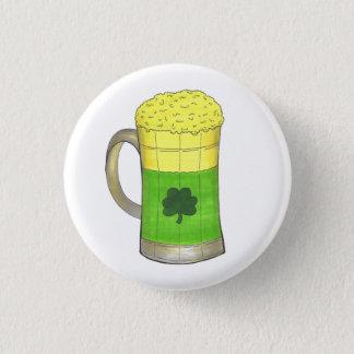 Badge Rond 2,50 Cm Chance verte du jour de Patrick de saint de