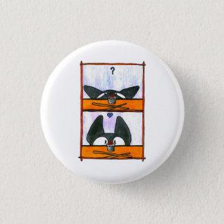 Badge Rond 2,50 Cm Chat de sushi !