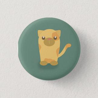 Badge Rond 2,50 Cm Chat mignon de minou