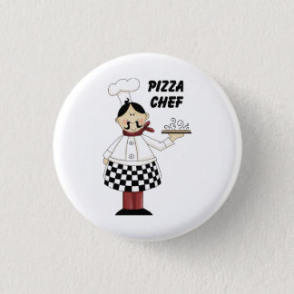 Badge Rond 2,50 Cm Chef de pizza