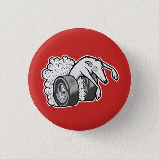 Badge Rond 2,50 Cm Chien de hot rod