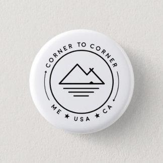 Badge Rond 2,50 Cm Coin pour acculer les Etats-Unis 2018 (petit