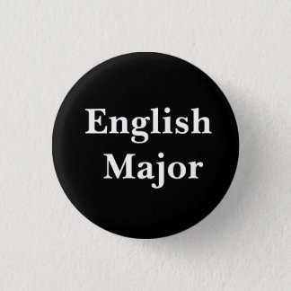 Badge Rond 2,50 Cm Commandant anglais Pin