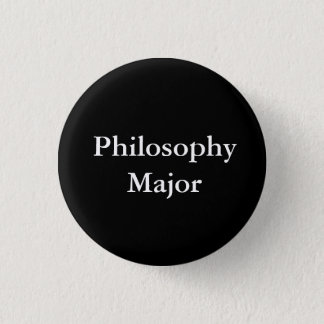 Badge Rond 2,50 Cm Commandant de philosophie