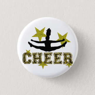 Badge Rond 2,50 Cm Contact d'orteil de pom-pom girl
