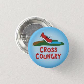 Badge Rond 2,50 Cm © courant de pays croisé