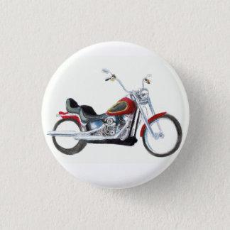 Badge Rond 2,50 Cm Coutume de Doux-queue de Harley