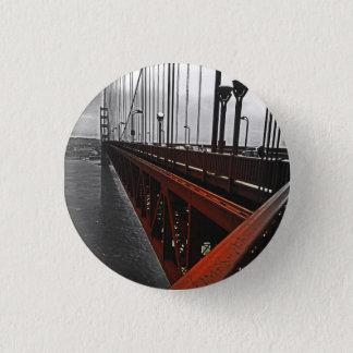 Badge Rond 2,50 Cm Croisement du Golden Gate