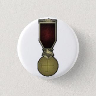 Badge Rond 2,50 Cm Croix céleste