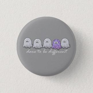 Badge Rond 2,50 Cm Défi à être différents fantômes