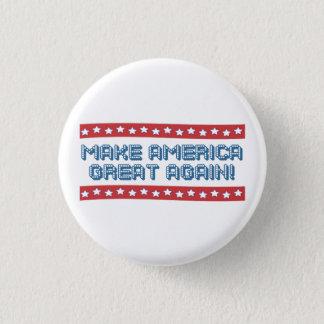 Badge Rond 2,50 Cm Donald Trump
