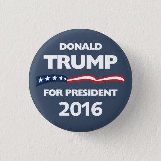 Badge Rond 2,50 Cm Donald Trump pour le président 2016