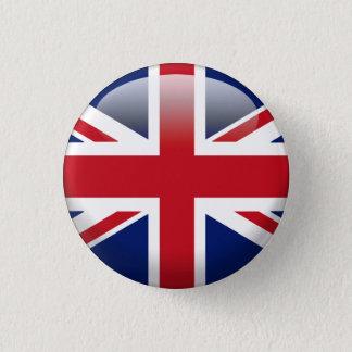 Badge Rond 2,50 Cm Drapeau britannique d'Union Jack