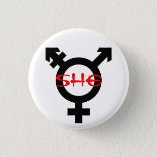 Badge Rond 2,50 Cm Elle changent de sexe