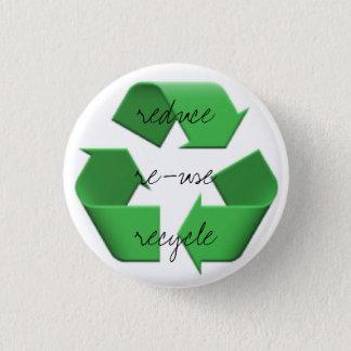 Badge Rond 2,50 Cm Emoji de trois r