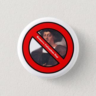 Badge Rond 2,50 Cm Enlevez le bouton de jour de Columbus