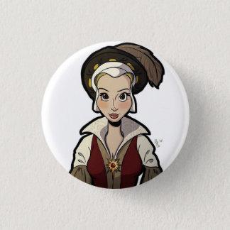 Badge Rond 2,50 Cm Épouses d'insigne de Henry VIII - Catherine Parr