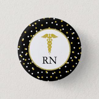 Badge Rond 2,50 Cm Faveur de fête de remise des diplômes d'infirmière