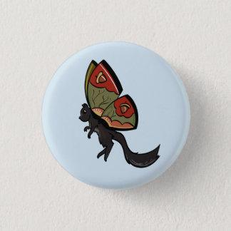 Badge Rond 2,50 Cm Fée d'écureuil
