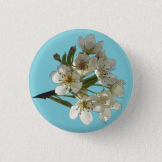 Badge Rond 2,50 Cm Fleurs de renaissance