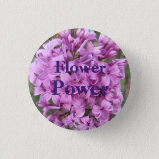 Badge Rond 2,50 Cm Flower power