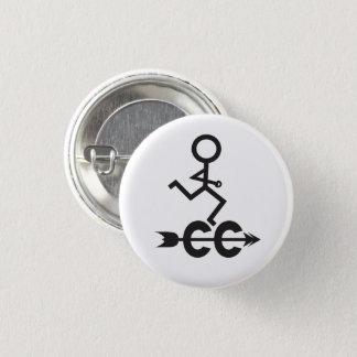Badge Rond 2,50 Cm Fonctionnement de pays croisé