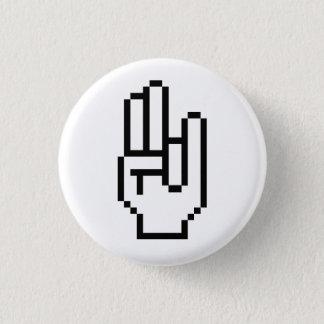 Badge Rond 2,50 Cm Fumier de 8 bits