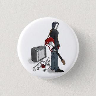 Badge Rond 2,50 Cm garçon avec guitare