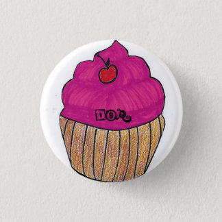 Badge Rond 2,50 Cm Goupille de conception de petit gâteau de